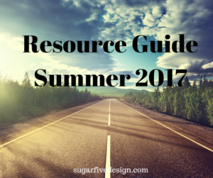 Web Design Resource guide Summer 2017