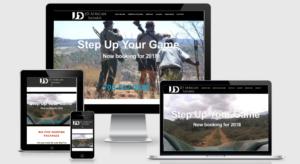 Example of a responsive website by Atlanta web design company Sugar Five Design