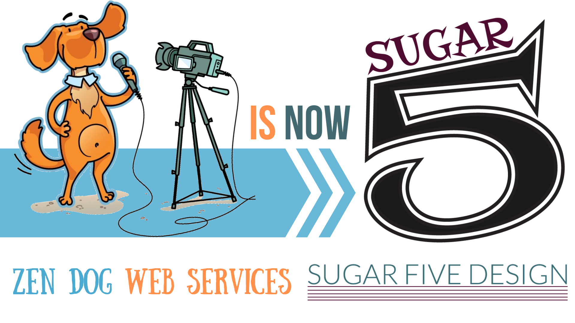 Zen Dog is now Sugar Five